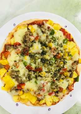 Pizza chảo cho người bận rộn