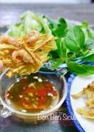 Bánh Tôm Chiên Khoai Lang