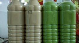 Hình ảnh món Trà sữa Thái xanh