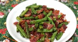 Hình ảnh món Đậu que xào thịt xông khói (green bean stir fried with bacon)