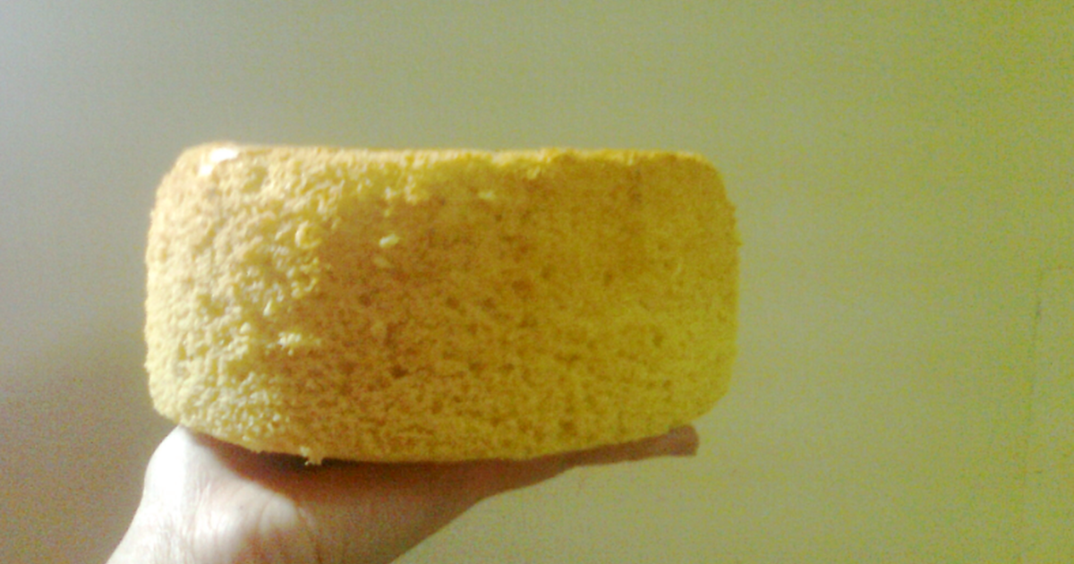 Basic Sponge cake recipe (made with a rice cooker)