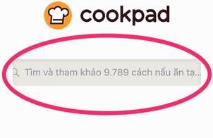 Cách tìm công thức trên Cookpad