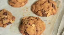Hình ảnh món Bánh quy sôcola và hạt óc chó