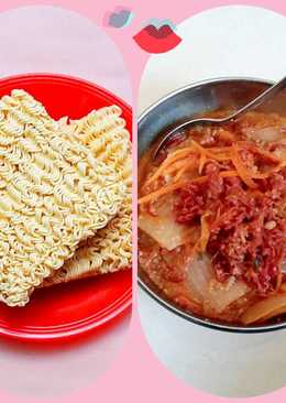 Mỳ bò kimchi