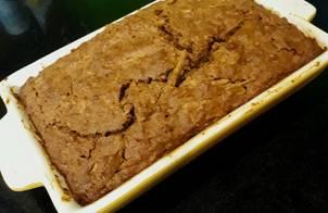 Bánh táo làm từ bột yến mạch