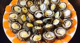 Hình ảnh món Rong biển cuộn trứng cút