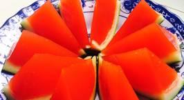 Hình ảnh món Thạch rau câu dưa hấu