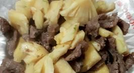 Hình ảnh món Thịt bò xào dứa
