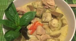 Hình ảnh món Cà ri xanh Thái Lan (Thai Green Curry with Chicken)