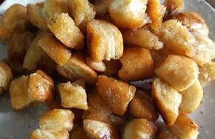 Bánh mì caramel/Caramel bread popcorn