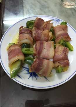 Thịt ba chỉ xông khói cuộn phô mai