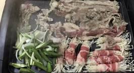 Hình ảnh món Thịt nướng hàn quốc nóng hổi vừa thổi vừa ăn ?