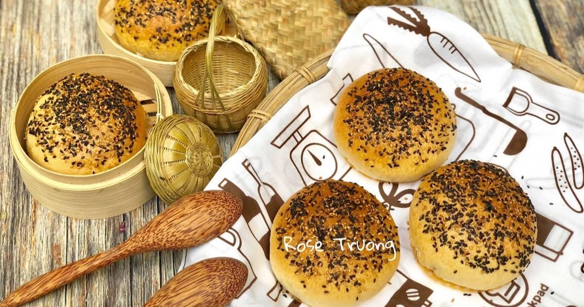 Taiwan Pepper Bun _ Bánh Bao Nướng Tiêu Đen Nhân Thịt