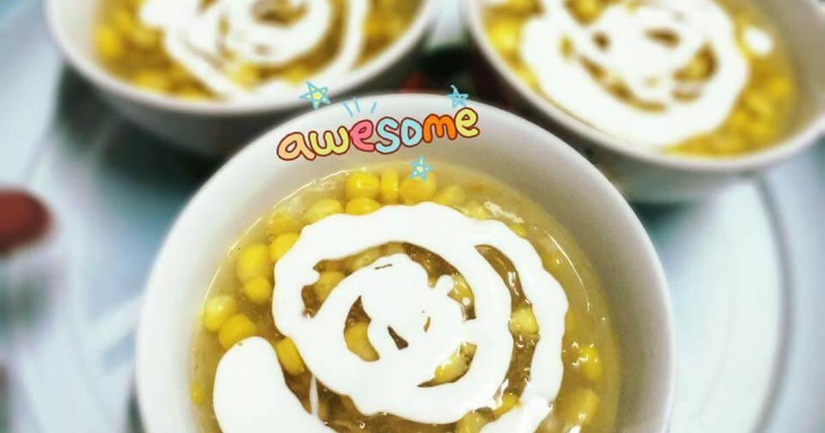 Chè ngô cốt dừa