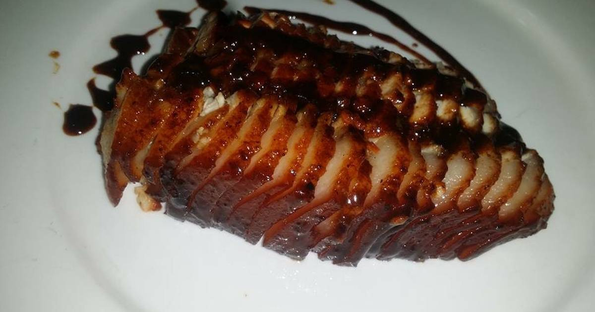 Thịt xá xíu quay bằng chảo