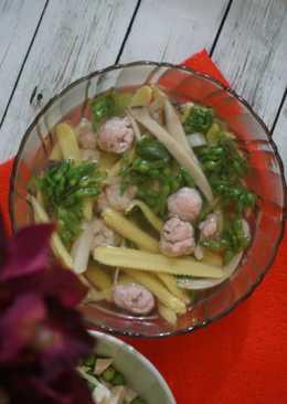 Canh rau củ thập cẩm tươi mát