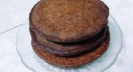 Hình ảnh món Pancake series No.3 - Pancake yến mạch chocolate chuối