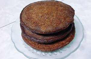 Pancake series No.3 - Pancake yến mạch chocolate chuối