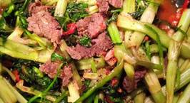 Hình ảnh món Thịt bò xào rau cần