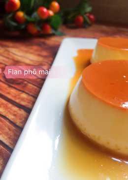 Bánh Flan Phô Mai