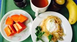 Hình ảnh món Trứng gà chần lòng đào cho bữa sáng