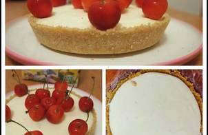 Cheesecake không cần lò nướng