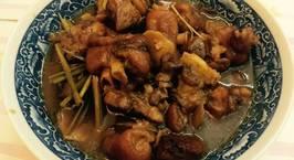 Hình ảnh món Chân giò lợn (heo) nấu giả cầy