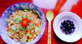 Hình ảnh món Cơm rang cho bữa sáng mùa xuân hơi se lạnh