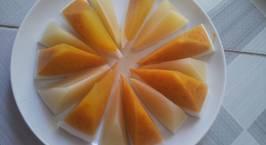 Hình ảnh món Rau cau quả dừa vị bí đỏ - bắp