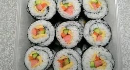 Hình ảnh món Cơm cuộn (Kimbap)