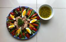 Hình ảnh Nicoise Salad-Xà Lách Cá Ngừ
