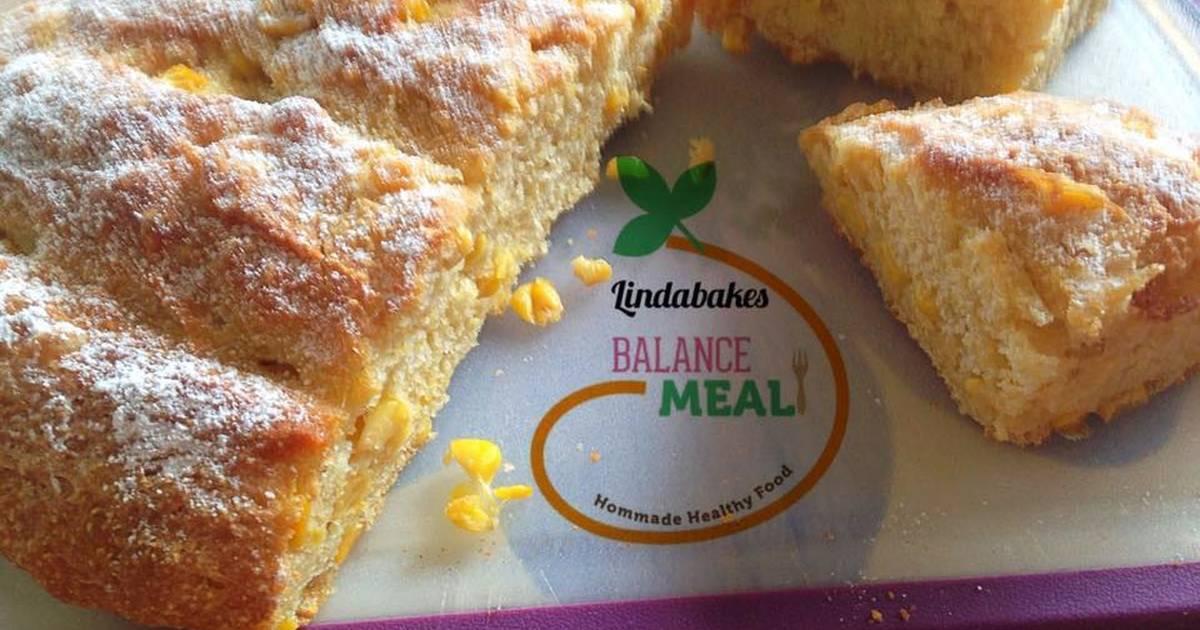 Bánh mỳ ngô ngọt thơm ngon không cần nhồi (Cho bạn mới quen với bánh mỳ)!