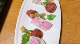 Hình ảnh món Trang trí Kamaboko - món ăn dịp Tết ở Nhật