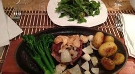 Hình ảnh món Bò chiên kiêu Tây (beef steak)
