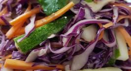 Hình ảnh món Salad bắp cải tím (dùng cả cho món ăn chay)