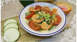 Hình ảnh món Zucchini Spaghetti (Mỳ spaghetti bí ngòi) #cleaneating