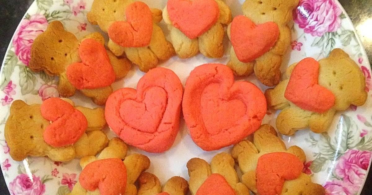 Bánh quy gấu ôm tim