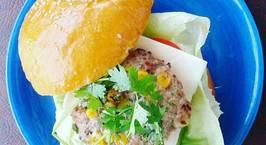 Hình ảnh món Hamburger kiểu Mexico