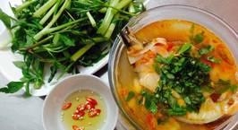 Hình ảnh món Canh măng chua cá bớp