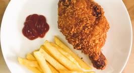 Hình ảnh món Đùi gà chiên xù (giống gà KFC)