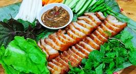 Hình ảnh món Thịt xíu cuốn bánh tráng Đại Lộc(Quảng Nam)