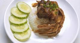 Hình ảnh món Thịt kho măng khô