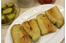 Bánh chưng rán không dùng chảo chống dính