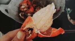 Hình ảnh món Cua rang me chua ngọt cả chồng, cả con tranh nhau ăn