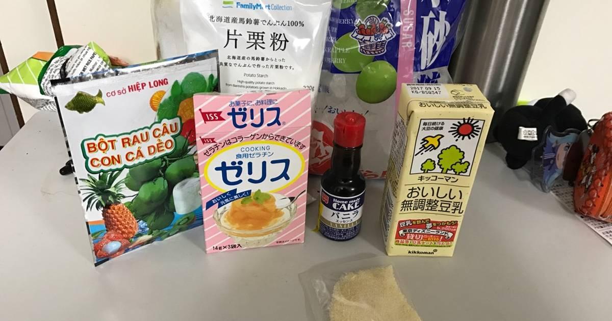 Tào phớ theo nguyên liệu Nhật