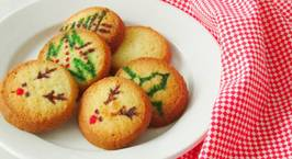 Hình ảnh món Noel nấp sau chíêc bánh quy giòn phải không ??