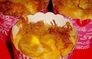 Bánh Bông Lan Chà Bông Trứng Muối