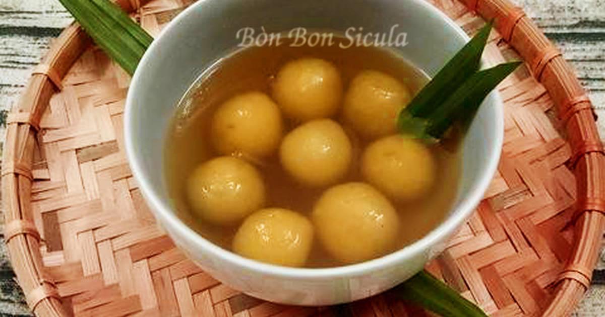 Chè khoai lang nấu đường thốt nốt