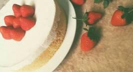 Hình ảnh món Strawberry Cheesecake (No bake)