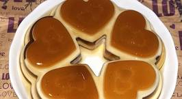 Hình ảnh món Thạch phomai cafe (Layered Coffee Cream Cheese Flan Jelly)
